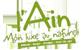 logo Ain, mon luxe au naturel