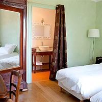 L'Escale Chambres d'hôtes, la chambre verte